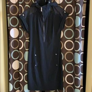 zenergy by chico's black athletic dress